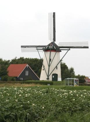 Molen de Vos in Nieuw-Vossemeer