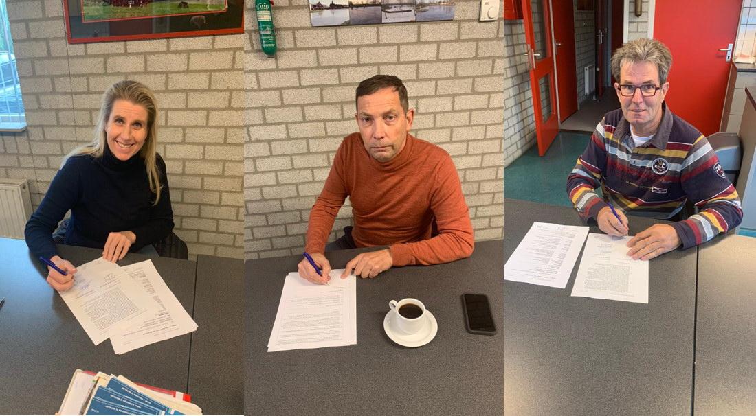 ondertekening overeenkomst