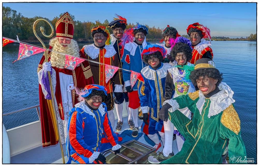 Sinterklaas in Nieuw-Vossemeer
