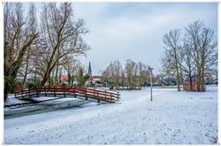 Sneeuw in Nieuw Vossemeer