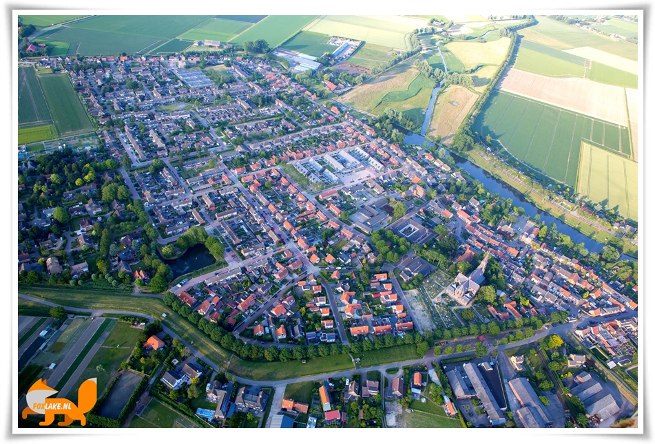 Luchtfoto Nieuw-Vossemeer