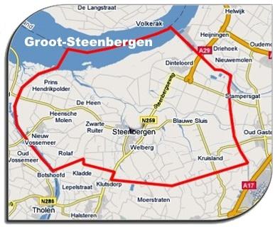 Kernen in de gemeente Steenbergen