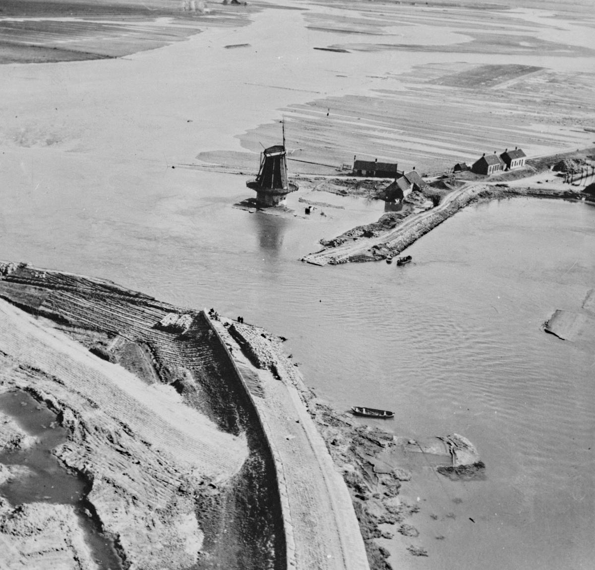 Watersnood 1953 Nieuw Vossemeer